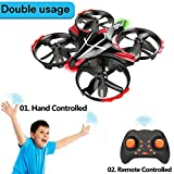GEEKERA Drone for Children Mini RC Helicopter Flying Toy with Gesture-Controlled Altitude Hold