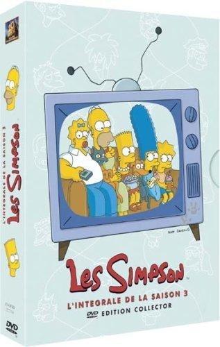 Les Simpson : L'Intégrale Saison 3 - Édition Collector 4 DVD