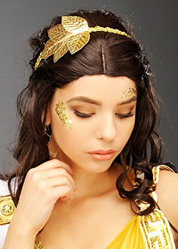 Magic Box Int. Womens Gold Leaf Griechischen Göttin Stirnband