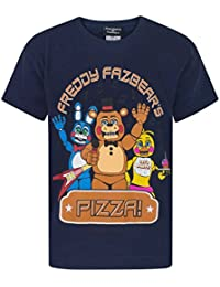 FIVE NIGHTS AT FREDDY'S Pizza Boy's T-Shirt