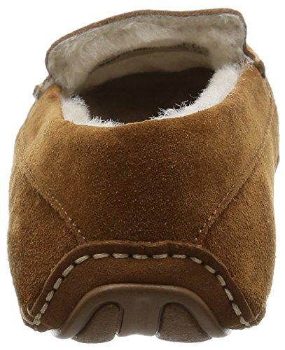 Ecco Cosy Moc Ladies, Pantofole donna Camel/Camel