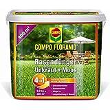 Compo Floranid Rasendünger gegen Unkraut+Moos 4in1, 9.00kg (26173)
