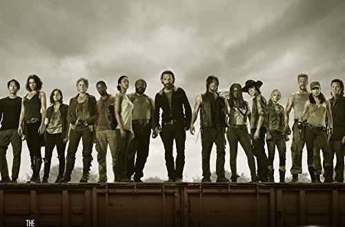 Infinite Arts Walking Dead The US Drama (36inch x 24inch/91cm x 60cm) Silk Print Poster - Silk Printing - DBC059 (24x36 Dead-poster Walking)
