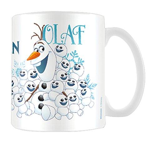 Disney MG23434 Tasse en céramique Olaf de la Reine des neiges 8x11,5x9,5cm multicolore