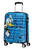 American Tourister Wavebreaker Disney Spinner Hand Luggage, 55 cm, 36 L, Bleu (Blue)