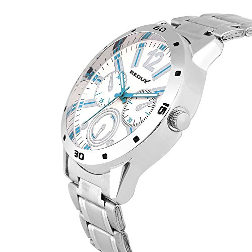 Redux-Force-Analog-White-Blue-Dial-Mens-Boys-Watch-RWS0001S