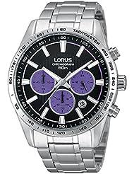 Lorus cronógrafo reloj de pulsera para hombre