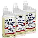 3x Dr. Becher Glas Reiniger Konzentrat 1 Liter