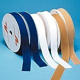 roylan aa9460hh Ganchos y trabillas para coser, gancho de banda, tamaño 2.5cm x 10m, Beige