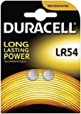 Two (2) x Duracell 189 LR54 LR1130 1.5v Alkaline Batteries Blister Packed - Used in Cameras, Toys, Calculators, Torches, Watches, Laser Pointers, and many other applications.