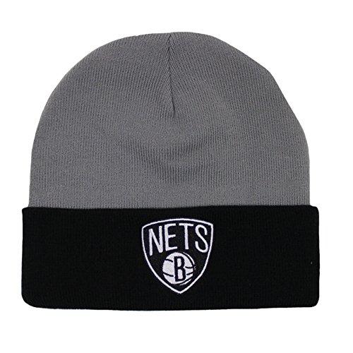 Mitchell & Ness Beanie Wintermütze Nets Grey OneSize