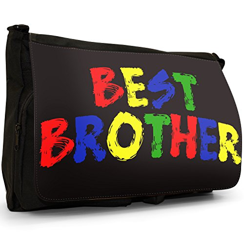 Fancy A Bag Borsa Messenger nero Best Uncle Birthday Gift Best Brother Birthday Gift