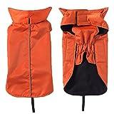 Outdoor Hunde Regenmantel Weste, warmen Haustier Kleidung Ultra Light atmungsaktiv 100% wasserdicht regen Jacke mit Leine Loch