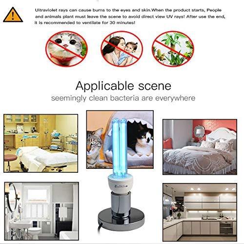 Bulk 25W Lámpara UV Cuarzo UVC Esterilización germicida CFL Bombilla de la lámpara de ozono Luz Ultravioleta...