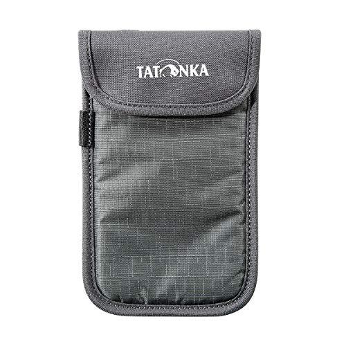 Tatonka Case L Smartphone Tasche, Titan Grey, 9,5 x 15,5 x 1 cm