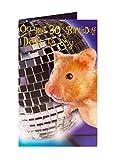 30. Hamster Sound und Move Geburtstagskarte