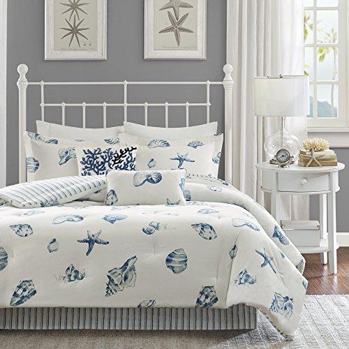 Harbor House Beach House Tröster Set, Baumwolltwill, blau, Volle Größe