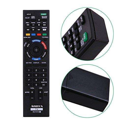 angrox rm-yd RM YD Universal TV mando a distancia de repuesto para SONY BRAVIA SMART TV remoto rm-yd087rm-yd102rm-yd103HDTV LCD LED 3d