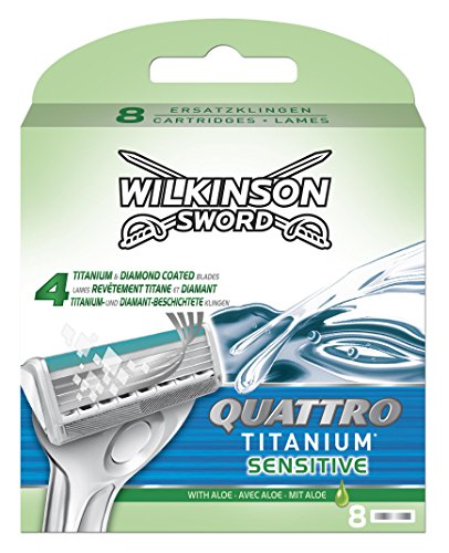 wilkinson-sword-quattro-titanium-sensitive-refill-razor-blade-cartridges-pack-of-8-cartridges