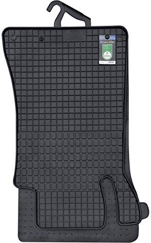 PETEX 46010 Gummimatte Mercedes C-Klasse W203 ab 04/2000-02/2007-passgenaue Auto Gummi Fußmatte 4-teilig (Gummi-auto-matten Mercedes-benz)