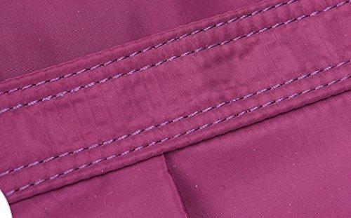 Impermeabile Borsa Tessuto Di Nylon A Tracolla Messenger Grande Borsa Leggera Corsa Di Svago Pink