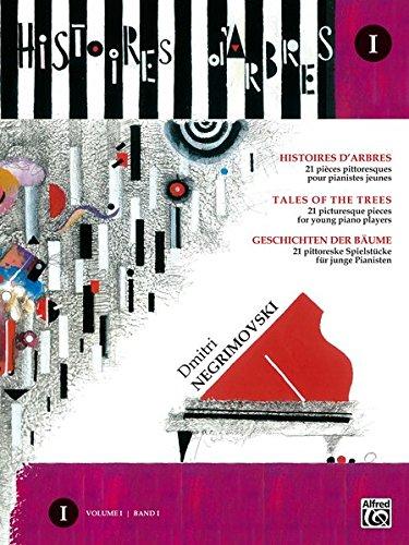 Histoires d'arbres Vol.1 (Tales of the trees) -21 pièces pittoresques pour les jeunes pianistes +CD --- Piano