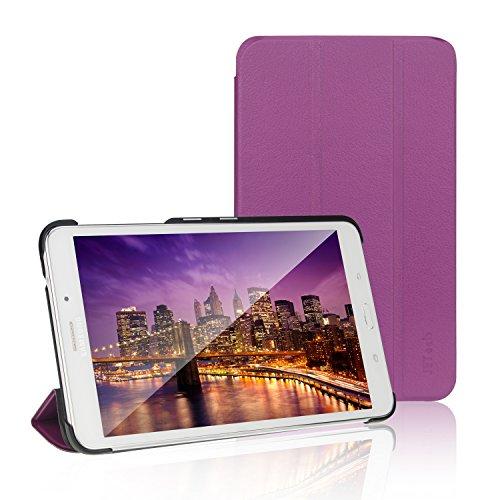 JETech Hülle für Samsung Galaxy Tab 4 7,0, Schutzhülle mit Ständer Funktion und Auto Schlaf/Wachen, Violett