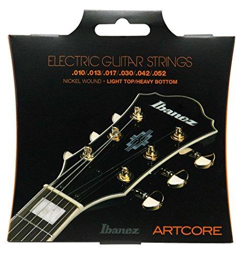Ibanez IEGS62 E-Gitarre Saite Satz (Nickel Wound, 010-052, Light Top Heavy Button)