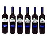 6x Tsantali Chalkidiki Rotwein a 750 ml roter griechischer trockener Rotwein Rot Wein trocken 6er Set + 2 Probier Sachets Olivenöl aus Kreta a 10 ml