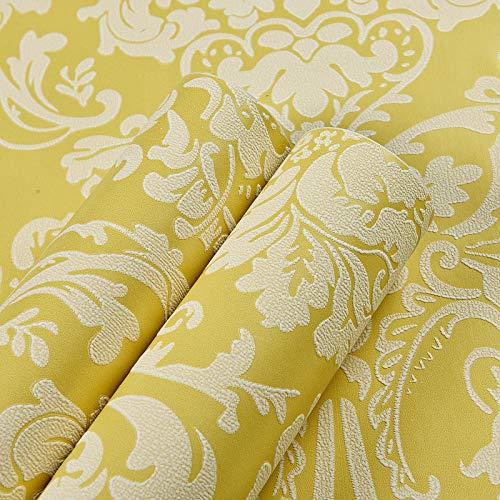 Tapete selbstklebende Wandsticker Tapete Schlafzimmer Wohnzimmer TV Hintergrundwand schlicht beige [0,53 cm * 1 m - Piraten Kitty Kostüm