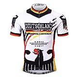 Thriller Rider Sports® Herren Germany Flag Sport & Freizeit MTB Fahrradbekleidung Radtrikot 5X-Large