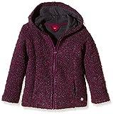 s.Oliver Mädchen Sweatshirt in Bouclequalität, Einfarbig, Gr. 128 (Herstellergröße: 128/134), Rot (Bordeaux Knit 47X7)