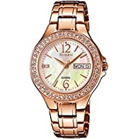 Casio Sheen Analog Multi-Color Dial Women's Watch - SHE-4800PG-9AUDR (SX099)