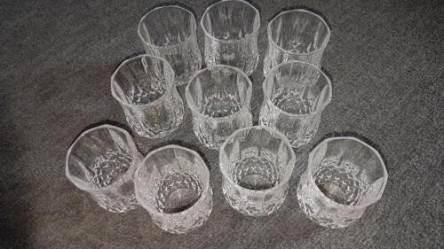 Cristal D 'Arques Vasos de licor 6cl longc Hamp 618276