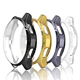 Simpeak 4-Packs Funda para Samsung Gear S3 / Galaxy Watch 46mm, Funda Samsung Gear S3 Slim Suave TPU...