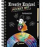 Kreativ-Kratzel Pocket Art: Farbenglück (Kreativ-Kratzelbuch)