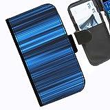 Hairyworm- Streifen Seiten Leder-Schützhülle für das Handy Nokia Lumia 720
