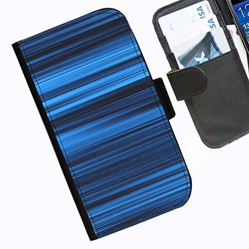 Hairyworm- Streifen Seiten Leder-Schützhülle für das Handy Blackberry 9720