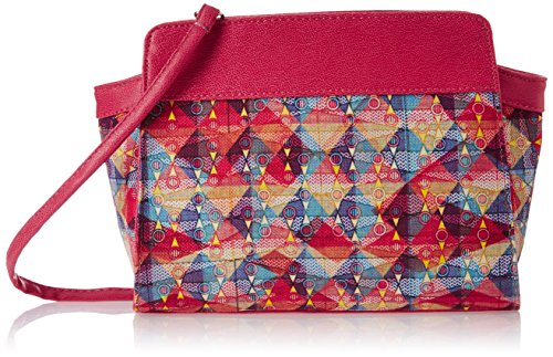 Kanvas Katha Women's Digitally Printed fashion canvas Sling bag  (Multi)  (KKBT002)  available at amazon for Rs.249