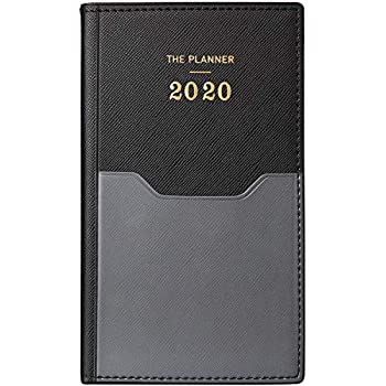 2020 Year Diary A6 Week to View Pastel Colours Yearly Planner Organiser 3474 Trexin