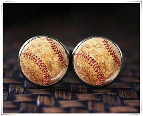 Baseball Manschettenknöpfe, Sport Manschettenknöpfe, Baseball Player, Baseball Fan Geschenk