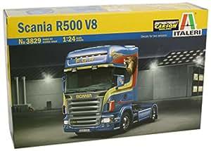Italeri - I3829 - Maquette - Camion - Scania R580 V8 - Echelle 1:24