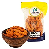 Neelam Foodland Special Onion Pakoda: Crisp & Delicious Onion Pakoda . Pop into your mouth and savour the crunchiness of this delectable snack! While it is perfect to have on a cold, rainy day, with a cup of chaai, this versatile snack is...