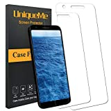 UniqueMe Screen Protector for Google Pixel 3a, [Update Version] (2 Pack) Soft Flexible
