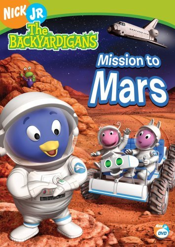 The Backyardigans - Mission to Mars by LaShawn Jefferies - Dvd Backyardigans