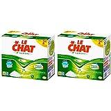 Le Chat L'Expert Lessive en Tablettes 56 Doses/28 Lavages - Lot de 2