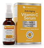 20% Vitamin C Serum Organic 60ml Vitamin E...