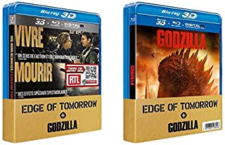 Edge of Tomorrow + Godzilla [Combo 3D + Blu-Ray 2D] (B00LG0W0TC) | Amazon price tracker / tracking, Amazon price history charts, Amazon price watches, Amazon price drop alerts