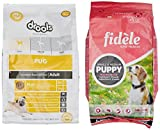 #5: Fidele Small and Medium Puppy Food, 4 kg with Free Puppy Food, 1 kg
