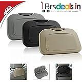 Foldable Seat Back Headrest Multi-Functional Travel Dining Tray Beverage Holder/Phone Holder